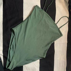 Green one piece